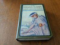 The Brass Bowl by Louis Joseph Vance Antique 1907 Romance Shabby Chic Farmhouse