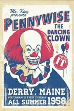 """Pennywise """"The Dancing Clown"""" It Movie T-shirt -All Sizes *High Quality* King"""