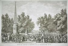 Fête de Virgile à Mantoue Campagne d'Italie Napoléon Bonaparte 1815 Carle Vernet