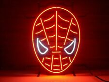 "New Spider-Man Neon Light Sign 20""x16"" Beer Gift Bar Real Glass"