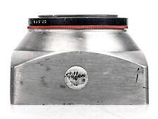 Tiffen Deluxe Series VII (7) Square Metal Lens Hood w/ 57.5 F8 Tiffen Adapter Ri