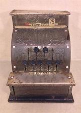 Antique Benjamin Franklin Toy Cash Register Mfd by KamKap Inc NYC