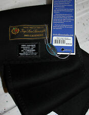 "~ LORO PIANA®  UNISEX 100% Cashmere Scarf 34"" X 6"" *$195 Great Gift Blk or Brown"