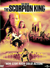 The Scorpion King (Dvd, 2002, Full Frame) Collector's Edition,The Rock, Kelly Hu