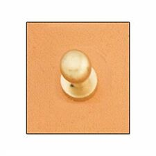 Button Stud 10mm Screwback Brass Tandy Leather 11311-53