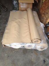 "5 Rolls Brown Vinyl Patio Marine / PowerSports Fabric 61"" x 50 yards x 5 Rolls"