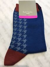 Paul Smith Women Sock Made In Italy Doght Ankle Blue