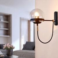 Modern Wall Light Fuxtures Bar Bedroom Glass Wall Sconce Proch Kitchen Wall Lamp