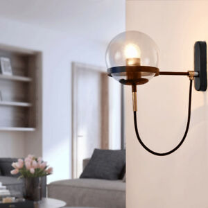 Modern Wall Light Fuxtures Proch Kitchen Wall Lamp Bar Bedroom Glass Wall Sconce