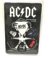 Perri's AC/DC Collectible Guitar Picks 6-Pack Acoustic Or Electric Guitar.