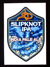 Full Sail SLIPKNOT IPA - INDIA PALE ALE brewery sticker ..not a beer label OR