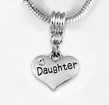 daughter charm fits European styles Daughter Charm Child's charm Princess charm
