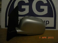 MITSUBISHI SPACE STAR 2003 PASSENGER SIDE ELECTRIC DOOR WING MIRROR IN SILVER