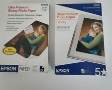 Epson S041934 Premium Photo Paper - Lot of 2. 50 Sheets