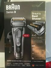 Braun Series 9-9376CC Wet and Dry Electric Shaver Brand New