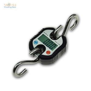 Hochlast-Hängewaage Digitale,0-150kg Gru Orizzontale,Wildwaage,Valigia Treno ,