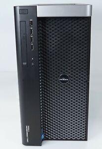 Dell Precision T7600 16-Core 2x Intel E5-2680 128GB DDR3 Fair 4-Bay No GPU HDD