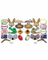 AUSTRALIAN PHOTO FUN SIGNS CUTOUTS DECORATIONS PARTY BBQ AUSSIE AUSTRALIA DAY