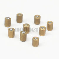 LOT 20 4x5mm Brass Push Button Press Fit Ball Oiler Nipple For Hit miss Engine