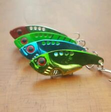 4 x Vibe Lures Bream Barra Trout Fishing Lure Flathead  Whiting Tackle