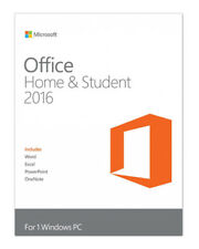 Microsoft Office Home and Student 2016 Box Pack -  (79G-04356)