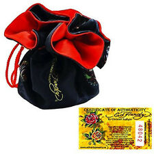 ED HARDY ROSE DROP NECKLACE for NBC Shop ~ Pouched -New