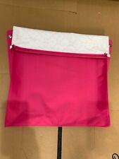 Silver Cross Dolls Coach Built Oberon Pram apron cover Very Pink NEW