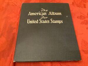 STAMP COLLECTION IN SCOTT AMERICAN ALBUM D