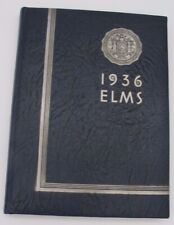 Vtg 1936 Elms State Teacher's College Buffalo New York Yearbook