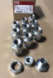"""EATON CROUSE HINDS UNY105  1/2"""" Explosion Proof Union. Box Of 10. Free Shipping"""