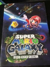 Super Mario Galaxy Official Complete Sticker Collection