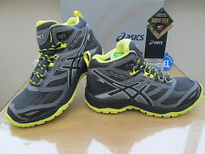 ASICS GEL-FUJI TERRA MTG G-TX BLACK GORE-TEX WALKING  BOOTS SIZE UK 5.5 EU 39.5