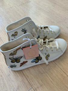 Keds x Rifle Paper Co Butterflies Hightops Shoes - Size 11 - New & Unworn