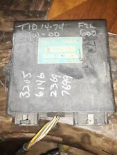 1990 Yamaha FZR600 Used Ignition CDI TID14-74 3HW-00 test ok damaged ecu