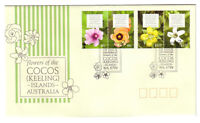 2010 FDC. Cocos (Keeling) Islands. Flowers of Cocos. Flowers Pictorial PMK