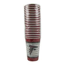 New NFL Atlanta Falcons 20 Disposable 16oz Paper Cups Party-Ware Supplies