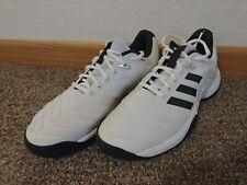 adidas Men's Barricade 2018 Tennis Shoe, white, size US 7