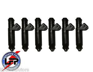 6 SIEMANS DEKA 107961 INJECTORS EV1 60# 60lb 630cc BUICK REGALGM BMW FORD FALCON