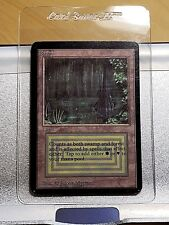 MTG ALPHA Dual Land BAYOU Magic the Gathering card WOTC - AMAZING CONDITION!