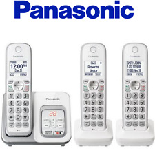 Panasonic KX-TGD533W Cordless Phone Call Block Answering Machine Handsets
