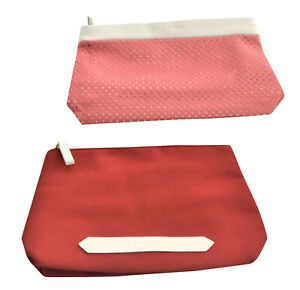 CLARINS TOILETRY COSMETICS WASH BAG MAKEUP WOMANS POUCH NEW TRAVEL IN 2 COLOURS