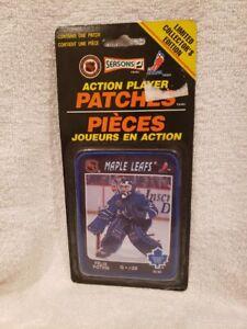 VINTAGE&RARE 1990's Felix Potvin Toronto Maple Leafs Action Player Patch, MINT!