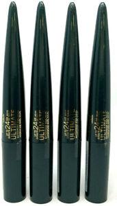 (4) Rimmel Ultimate Waterproof Kohl Kajal Eyeliner Sealed 003 - Smoked Emerald