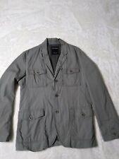 Preowned Calvin Klein Jeans CK 1978 Men's Lg Coat Jacket Olive