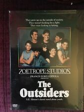The Outsiders SEALED DVD (1999 first issue) Patrick Swayze Tom Cruise Diane Lane