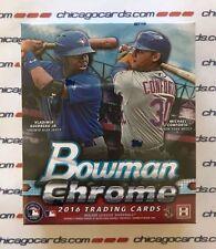 2016 Bowman Chrome HOBBY Mini-Box (Yoan Moncada Alex Bergman Refractor AUTO)?