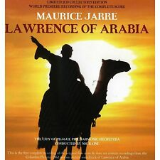 Lawrence Of Arabia - 2 x CD Complete Score - Limited Edition - Maurice Jarre