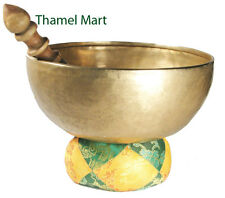 Hand Hammered Tibetan Meditation Singing Bowl 5 Inches  By, Thamel Mart