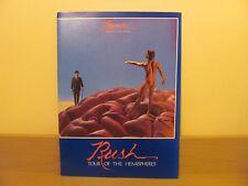 RUSH - TOUR OF THE HEMISPHERERS TOUR BOOK CONCERT PROGRAMME / PROGRAM