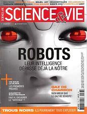 SCIENCE&VIE N°1166 NOVEMBRE 2014 ROBOTS/ TROUS NOIRS/ GAZ DE CHARBON/ NEANDERTAL